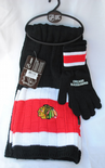 Chicago Blackhawks Scarf and Glove Gift Set